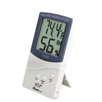 Indoor/Outdoor Digital LCD Temperature Humidity Hygrometer Meter Thermometer US