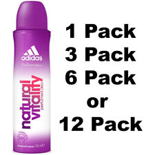 Adidas Natural Vitality Deo 24H Freshness Women Spray 150 ML Selected Pack