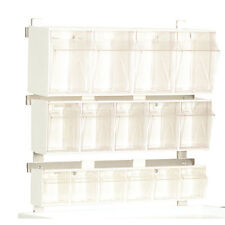 4-Compartment Tilt Bin with Mounting Clip 1 ea