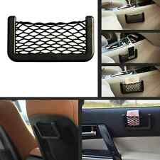 Car Auto Storage Mesh Net Resilient String Phone Bag Holder Organizer For Benz