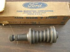 NOS OEM Ford 1964 1965 Large Truck Steering Gear Worm + Shaft C550 C650 C750 COE