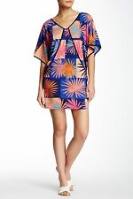 NWT- Trina Turk Edith Kimono Sleeve Printed Dress - Size Small