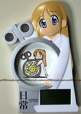 Nichijou stand clock official promo Shinonome Hakase Professor anime Authentic