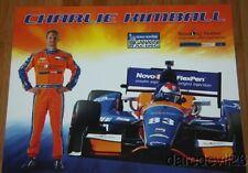 2014 Charlie Kimball Novo Nordisk Chevy Dallara Indy Car postcard