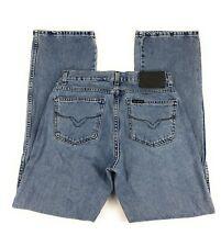 Harley Davidson Bootcut 100% Cotton Mid Rise Medium Wash Blue Jeans Women's 8L