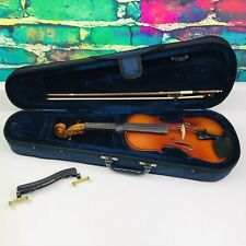 Carlo Robelli P-105  Student Violin Original Case plus Headrest See Details