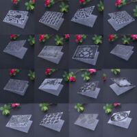DIY Plastik Embossing Folder Template Die Cutting Scrapbooking Album Karte Craft