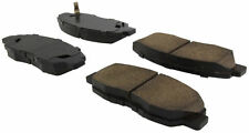 """100% Copper-Free"" Ceramic Brake Pads w/ Shims & Hardware -Front for Honda Civic"