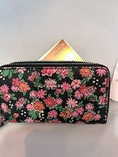COACH Posey Cluster Small Double Zip Coin Card Case Wallet  $98