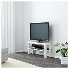 IKEA Lack White TV Bench Table Entertainment Unit Floor Standing Table Cabinet