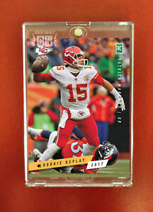 Patrick Mahomes / KC Chiefs RC / Rookie Replay 2017 / Generation Next