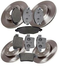 FRONT & REAR BRAKE DISCS AND PADS SET FITS FORD MONDEO MK3 2004 - 2007