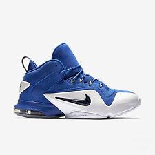 Nike Men Size 8.5 Zoom Penny VI Basketball Game Royal/Black-White Sneakers