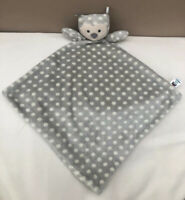 Jellycat Ollie Owl Soother Baby Comforter Grey Spotty Soft Blanket Toy Blankie