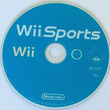 Wii Sports (Tennis,Golf,Baseball,Bowling,Boxing) *Disc Only* NINTENDO video game