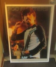 Foo Fighters Poster New 2001 Rare Vintage Collectible Oop Live