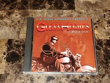 Glenn Hughes Rare Signed CD Blues: L.A. Blues Authority Deep Purple Deep Purple