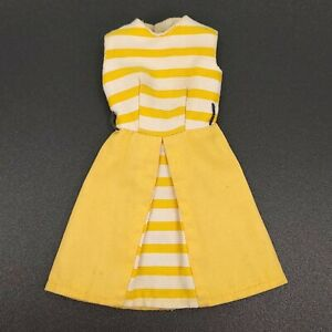 Vintage TAMMY SUNNY STROLLER Dress #9051-4 Yellow Outfit Doll Clothes