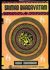 Kamala Subramaniam Srimid Bhagavatam Ancient Epics Puranas Indian Religious Text