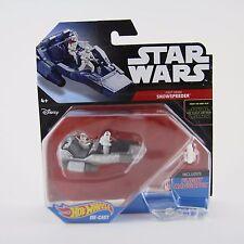 New Star Wars Hot Wheels First Order Snowspeeder Die-Cast Toy Vehicle Mattel BN