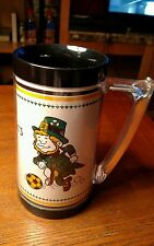 Vintage Soccer Civic Arena Pittsburgh Spirit Warm/Cold Strohs Mug SGA