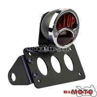 Brake Tail Light Side Mount License Plate Holder For Harley Sportster Bobber XL