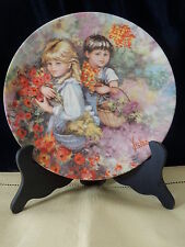 "Wedgwood Queen'S Ware ~ Plate ~ ""Our Garden"" ~ My Memories Collection"