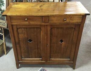Antique Primitive American Double Jelly Cupboard/ Cabinet/Pie Safe