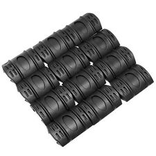 12x Tactical Rifle Weaver Picatinny Hand Guard Quad Rail Protect Covers Cheap