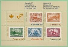 Canada -Souvenir sheet -Canada 82, Inter. Philatelic Youth Exhibit. #913a -MNH