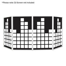 Equinox DJ Screen Equalizer Design Lycra (4 Pack) for Foldable Screen Disco