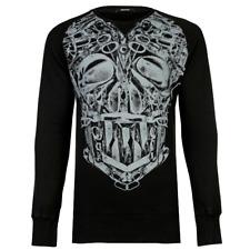 DENHAM Graphic Print Sweatshirt - L - 100% Cotton - Excellent - RRP £115 - BNWT