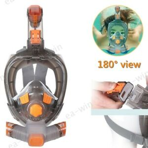 SMACO Full Face Diving Seaview Snorkel Snorkeling Mask Swimming Goggle for GoPro