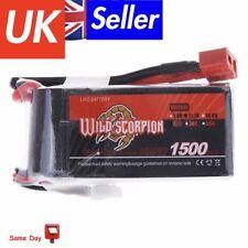 Wild Scorpion 1500mAh 25C MAX 35C 3S T Plug Lipo Battery for RC Car Plane U5B5