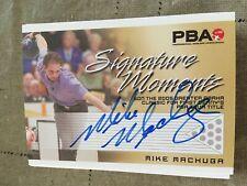 2007 PBA Bowling Signature Moments Autograph Mike Machuga