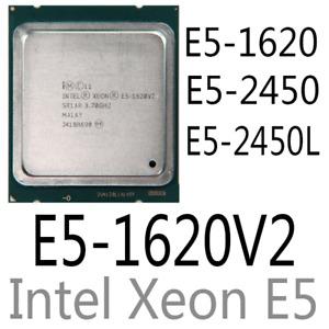 intel Xeon E5-1620 E5-1620 V2 E5-2450 E5-2450L CPU Processor