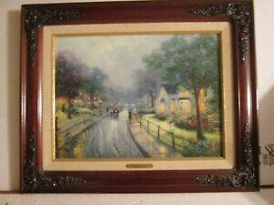 Thomas Kinkade Hometown Memories I 1997 #1 Very Fine condition