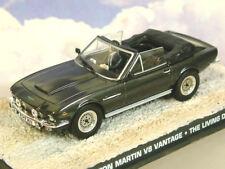 1/43 JAMES BOND 007 ASTON MARTIN V8 VANTAGE OPEN TOP FROM THE LIVING DAYLIGHTS