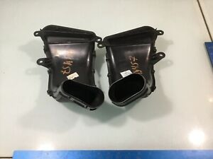 09-15 Jaguar XF w/ supercharged Left & Right Air Intake Duct Tube Pair OEM E