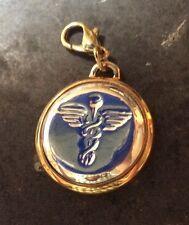 Lot of 12  NEW CADUCEUS Pendant Charms Astrological Symbol - Medicine Nursing