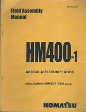 Equipment Manual - Komatsu - Hm400-1 Dump Truck - Field Assembly - 2002 (E4285)