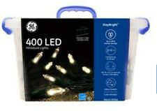 GE 400 LED #849666 MINIATURE LIGHTS-WARM WHITE--NEW