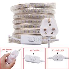 AC 220V 230V Waterproof LED Strip Light SMD 3014 Garden Commercial Rope Lights