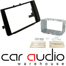 Audi A3 8P 2003 - 2012 Double DIN Facia Fascia Panel Plate & Gage Fitting Kit