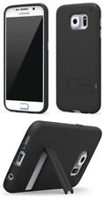 Puregear Negro Slimshell de Goma Funda Soporte para Samsung Galaxy