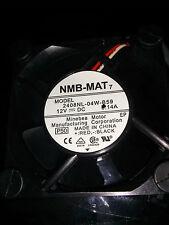 Nmb-Mat Fan model 2408Nl-04W-B59- 12Vdc, 0.14A, 60mm x 60mm x20mm