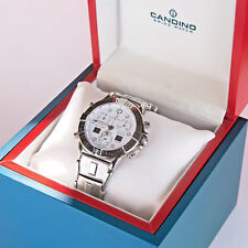 Candino Highlander Uhr sport Saphier Schweiz analog digital tacymeter NEU