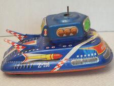 Space Patrol Z-206 by TPS Japan, Tin Toy