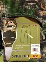 Mossy Oak Mountain Country - Men's 5 Pocket Flex Camo Jeans Pants - You Pick NWT
