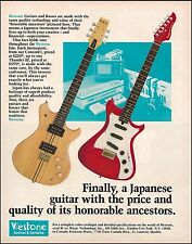 The 1982 Westone Thunder 1 Concord II guitar ad 8 x 11 advertisement print